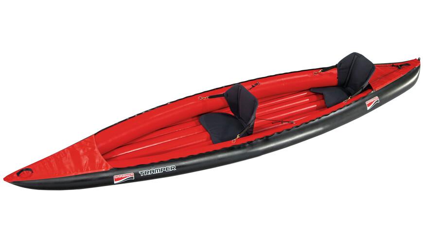 Grabner Tramper Båd rød/sort